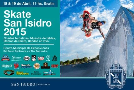 SkateSanIsidro2015 - Flyer web