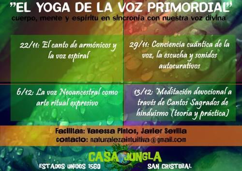 el yoga de la voz primordial