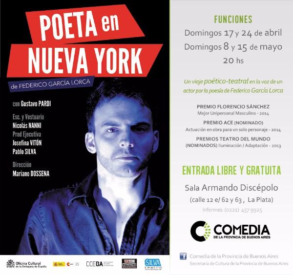 un poeta en Nva york