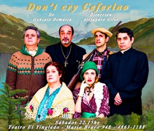 Don´t Cry Ceferino FLYER